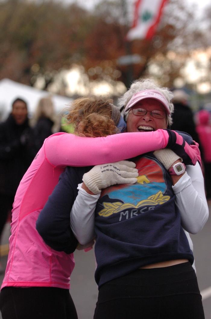 Finish Hug
